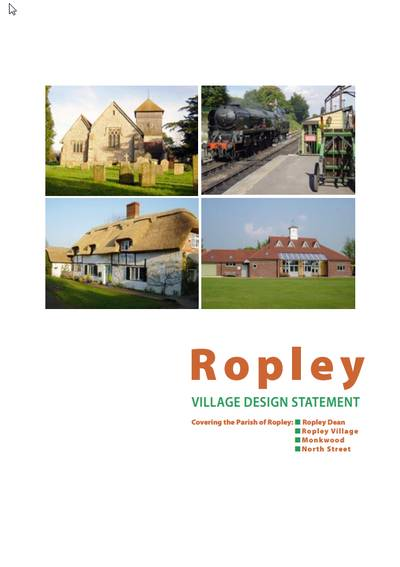 Ropley Village Design Statement Image